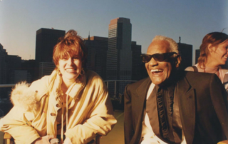 Brazil Business Link Nathalie Hoffman and Ray Charles for Brazilian beer company commercial