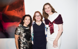 Brazil Business Link Nathalie Hoffman at Geena Davis Institute on Gender with Academy Award-winner Geena Davis and CEO Madeline DiNonno